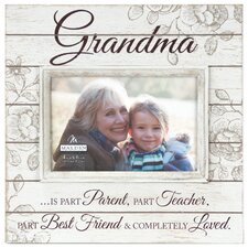 Grandma Sunwashed Wood Picture Frame