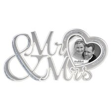 Mr. and Mrs. Signature Picture Frame