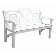 <strong>Innova Hearth and Home</strong> Concord Cast Aluminum Camelback Park Bench