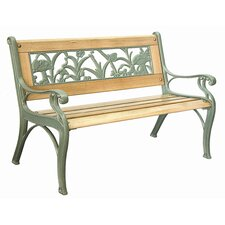 <strong>Innova Hearth and Home</strong> Insect Cast Iron Kid's Park Bench