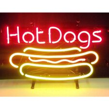 <strong>Neonetics</strong> Hot Dog Neon Sign