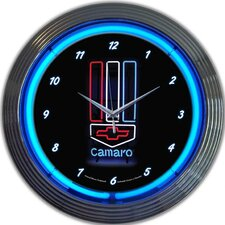 "<strong>Neonetics</strong> 15"" Camaro Wall Clock"
