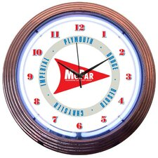 "15"" Mopar Arrow Wall Clock"