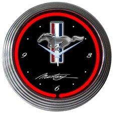 """15"""" Mustang Wall Clock"""