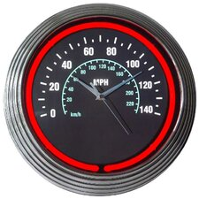 "15"" Speedometer Wall Clock"