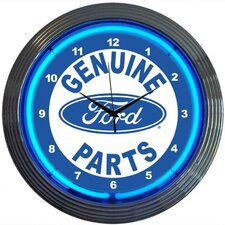 "<strong>Neonetics</strong> 15"" Ford Genuine Parts Wall Clock"
