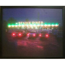 Bendix Diner LED Lighted Print