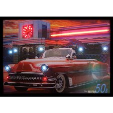 Nifty Fifties Neon LED Poster Sign