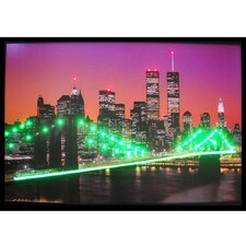 <strong>Neonetics</strong> New York Skyline Lighted Print