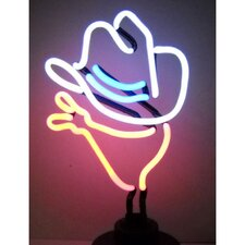 <strong>Neonetics</strong> Cowboy Neon Sculpture