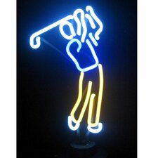 <strong>Neonetics</strong> Sports Golfer Neon Sign