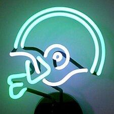 Sports Football Helmet Neon Sign