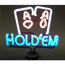 Bar & Game Room Hold Em Neon Sign