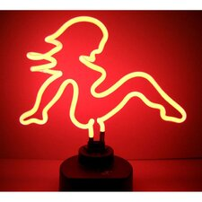 Mud Flap Girl Neon Sculpture