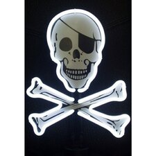 <strong>Neonetics</strong> Skull and Crossbones Sculpture