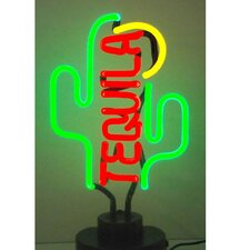Business Signs Tequila Cactus Neon Sign