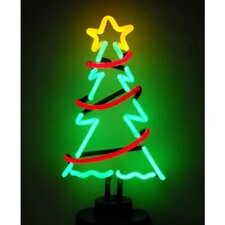 <strong>Neonetics</strong> Christmas Tree with Garland Neon Sculpture