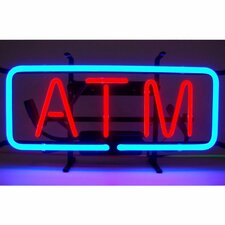 Business Signs ATM Neon Sign