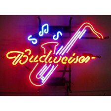 Business Signs Budweiser Saxophone Neon Sign