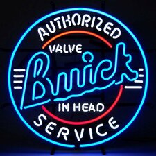 <strong>Neonetics</strong> Cars & Motorcycles GM Buick Service Neon Sign