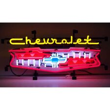 Cars and Motorcycles Chevrolet Grill Neon Sign