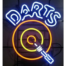 <strong>Neonetics</strong> Bar & Game Room Darts Neon Sign