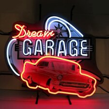 Dream Garage 57 Chevy Neon Sign