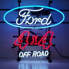 Cars and Motorcycles Ford Off Road Neon Sign