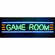 <strong>Neonetics</strong> Business Signs GAME ROOM Neon Sign