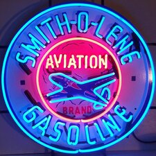 <strong>Neonetics</strong> Smith-O-Line Gasoline Neon Sign