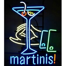 Business Signs Martinis! Neon Sign