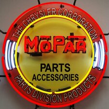 <strong>Neonetics</strong> Mopar Circle Neon Sign