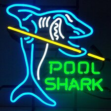 Pool Shark Neon Sign
