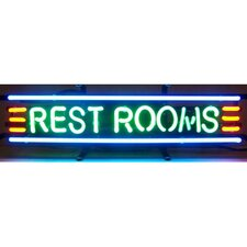 <strong>Neonetics</strong> Business Signs Rest Rooms Neon Sign