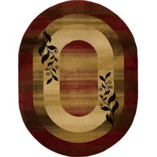 Barclay Red Molly Transitional Rug