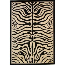 Dulcet Ivory Zebra Rug