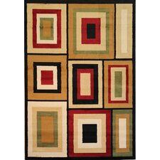 Dulcet Structure Geometric Rug