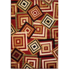 Dulcet Red Spaces Rug