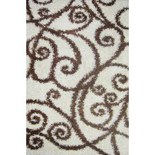 Madison Shag Beige Fiji Rug