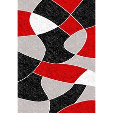 Melody Black Coaster Rug