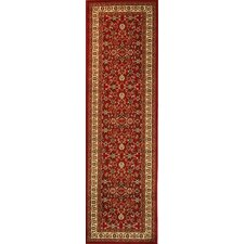 Barclay Red Sarouk Traditional Rug