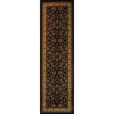Barclay Black Sarouk Traditional Rug