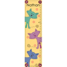 Little Cats Craft Personalized Growth Chart