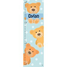 Bears Personalized Growth Chart