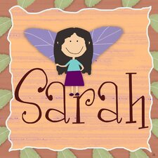 Fairy Little Girl Personalized Canvas Art