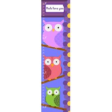Owls Personalized Growth Chart