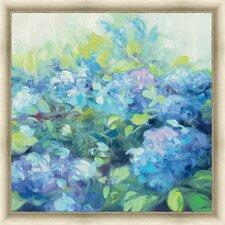Bright Hydrangea II Framed Painting Print