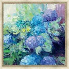 Bright Hydrangea III Framed Painting Print