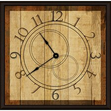 "Time Machine 11"" Art Wall Clock"