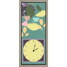 Fruits Garden II Art Clock